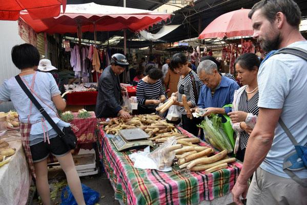 auf dem Markt - keine Ahnung was das ist...