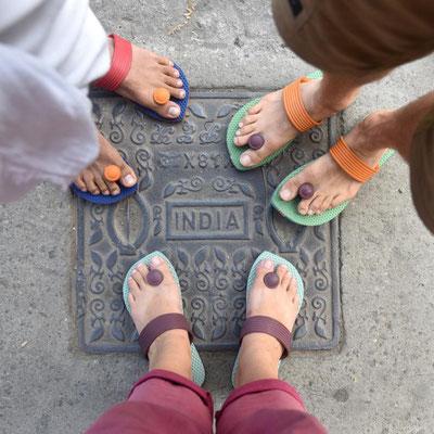 neue Schuhe aus Palakkad