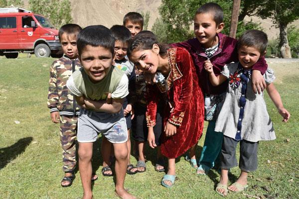 Kinder im Wakhan Korridor