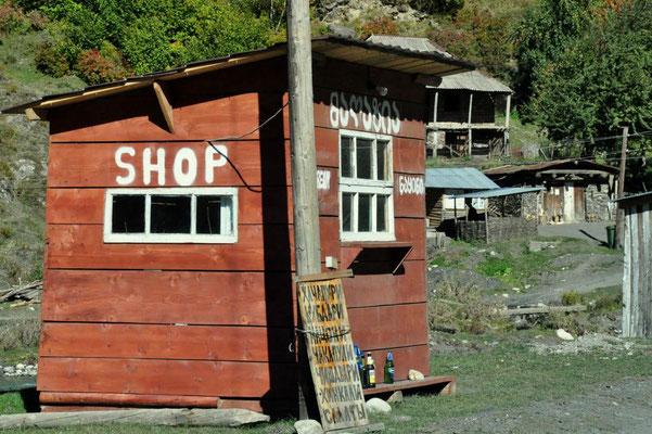 Shop im Nirgendwo