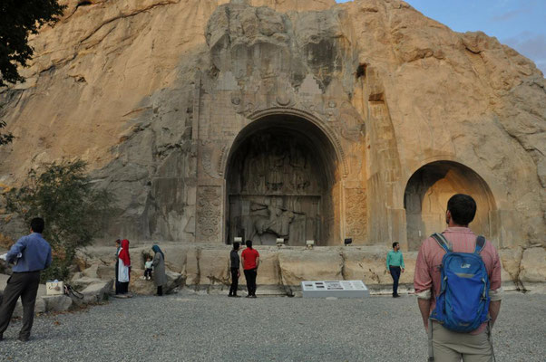 Taq - e - Bostan in Kermanshah