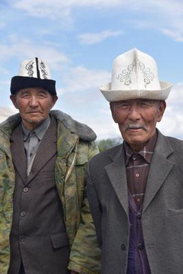 Männer mit Filzhüten