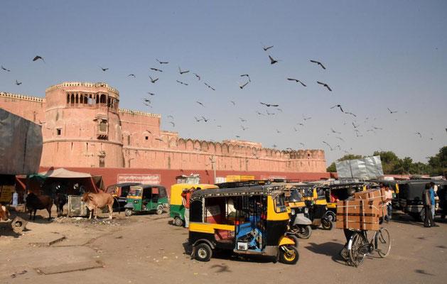 Städtchen in Rajasthan