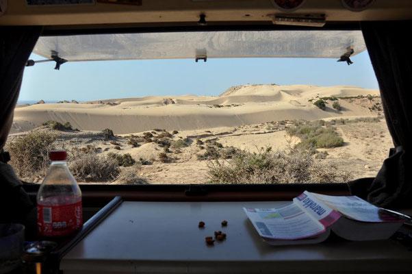 Ausblick aus dem Küchenfenster (in Marokko)