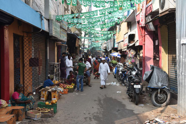 Gasse in Chennai
