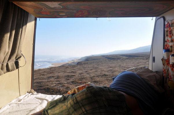 Ausblick aus dem Bett 2