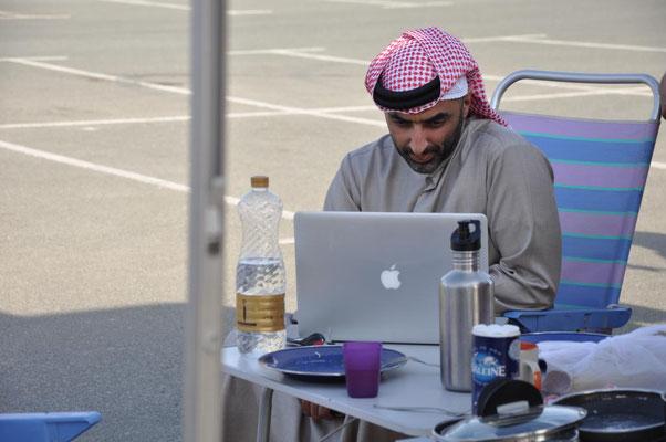 unser helfender Araber