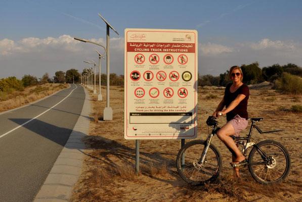 Radtour durch den Park - was hier alles verboten ist