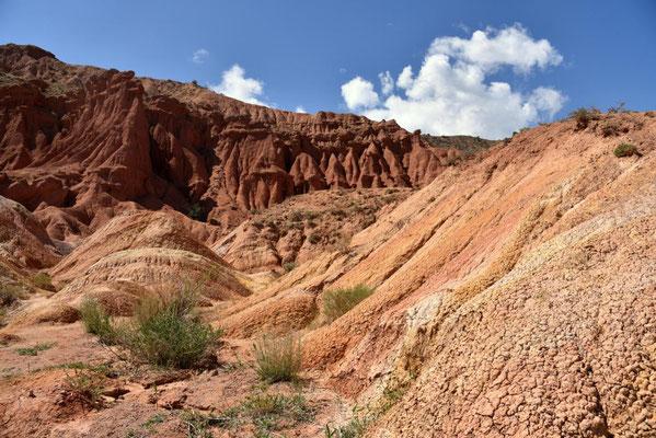 nach all dem grün eine schöne Abwechslung - Skazka Felsen