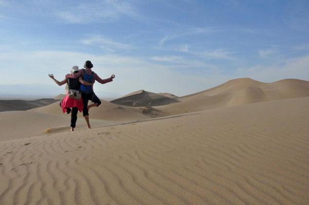 Om in der Wüste
