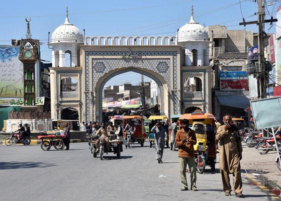 Straßenleben in Bahawalpur