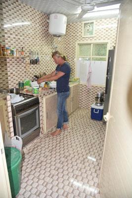 bei Sandra in der Küche - wir kochen nochmal indisch