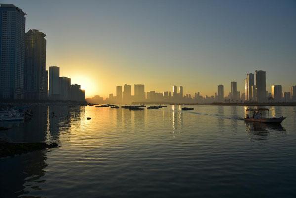 Morgen in Sharjah