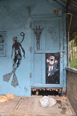 einfache Behausung (3 Euro Hütte)