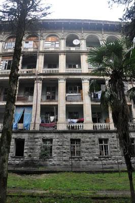 verfallenes Haus in Kutaisi