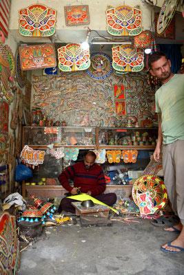 in einem Truck Art Shop in Rawalpindi