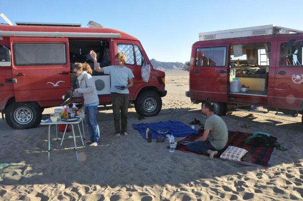 Pfannkuchen in der Wüste !