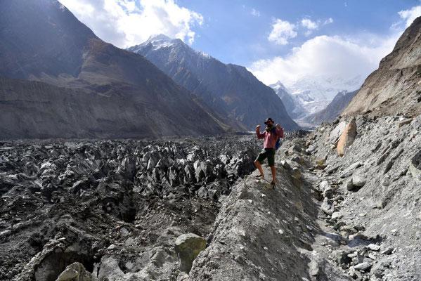 Janus am Rand des Gletschers