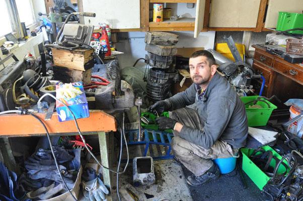 Janus in seiner (chaotischen) Werkstatt