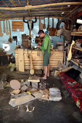 in der Holzwerkstatt