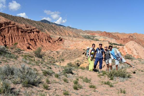 gemütliche Wanderung durch den Canyon
