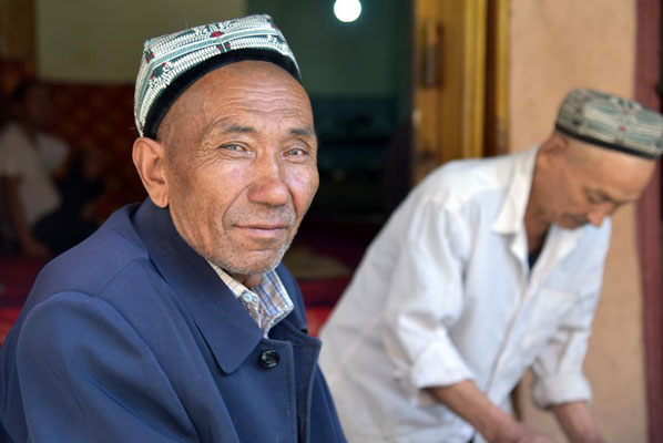 Uiguren lassen sich gerne fotografieren