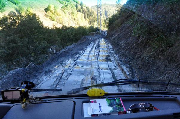 die Straße nach Ushguli