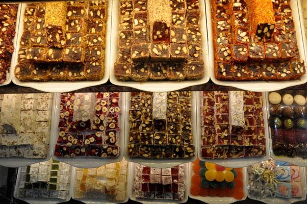 Süßigkeiten a la Türkiye