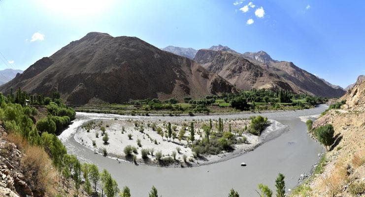 ein Blick rüber nach Afghanistan