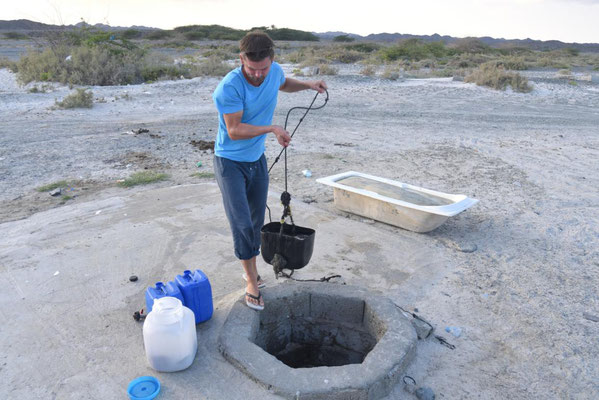 diesmal leider nur Brunnenwasser
