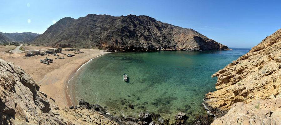 Bucht in Musandam