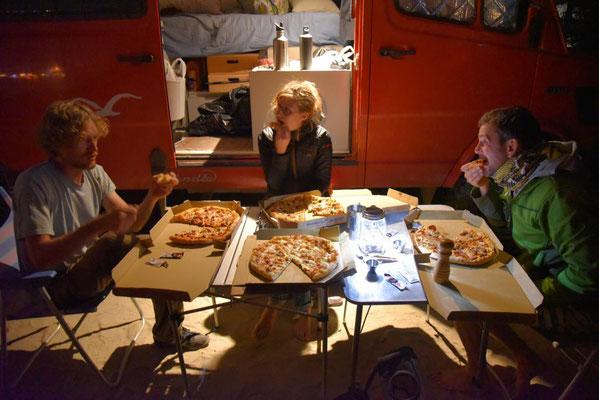Pizzaabend mit Heidi & Valentin