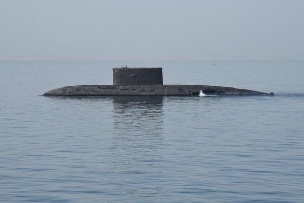 U - Boot kurz vor Bandar Abbas