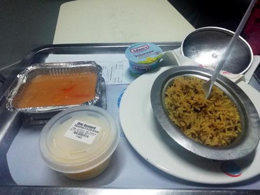 Essen am 3. Tag - es geht wieder was runter JUHU