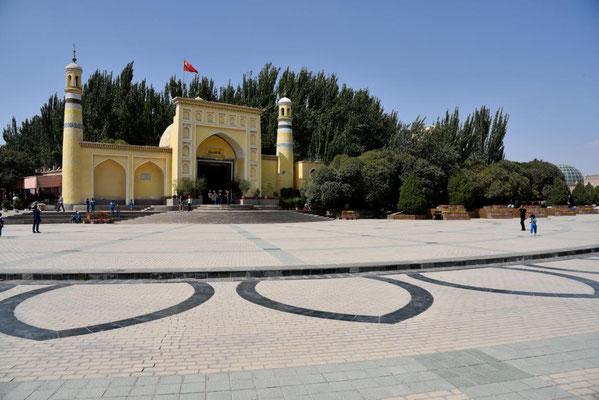 Moschee am zentralen Platz von Kashgar