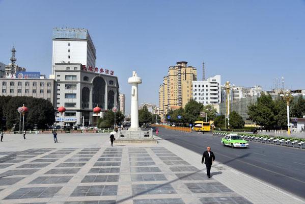 Stadtbild von Kashgar