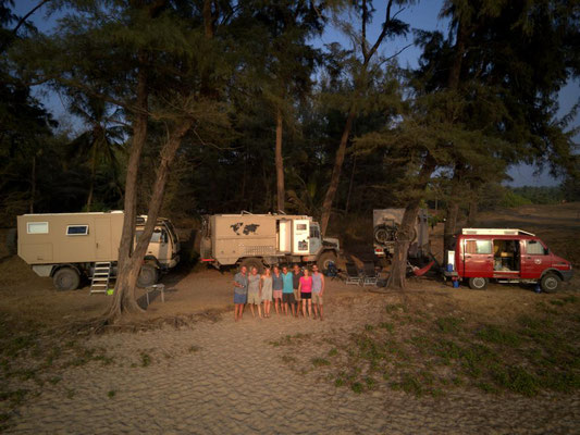 "unser ""Camp Chaos"""