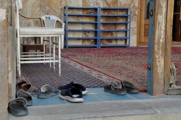 Eingang zur Moschee