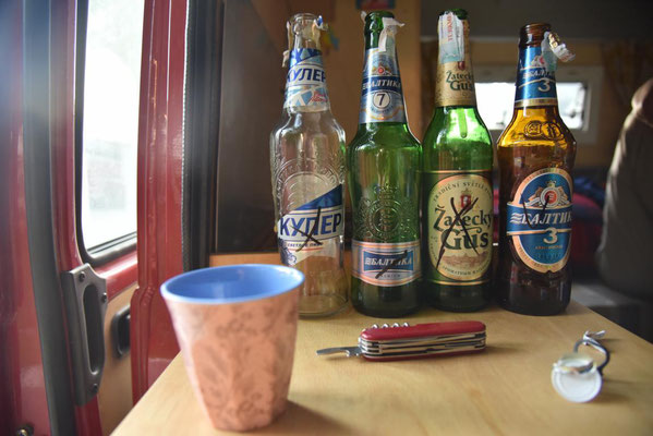 Bierprobe - leider fast alle durchgefallen