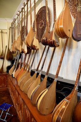 handgemachte Instrumente