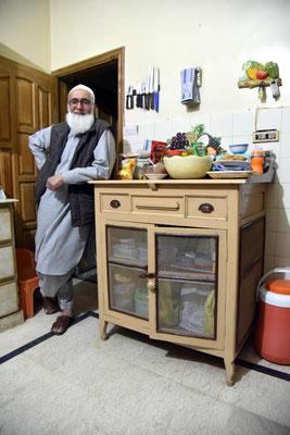 Moqeem in der Küche