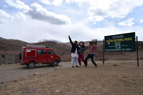 Auf gehts auf Bärensuche im Deosai National Park