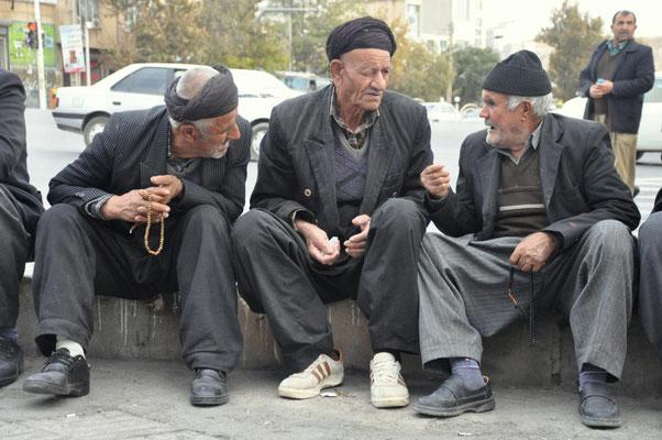 am Straßenrand in Kurdistan
