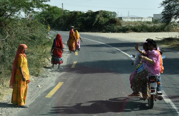 Straße in Rajasthan