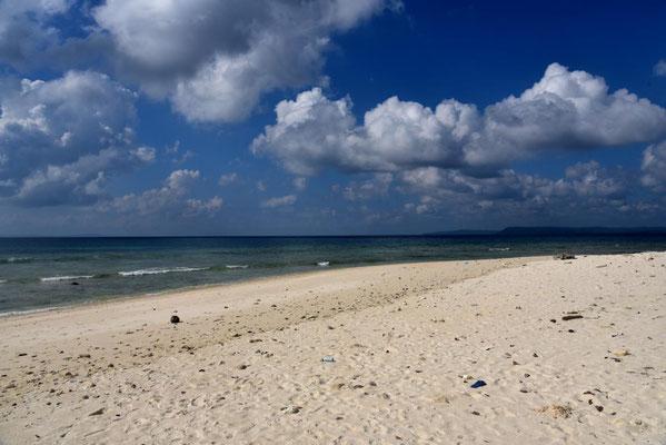einsamer Sunset Beach