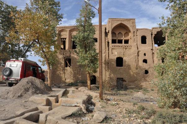 zerfallene Stadt Kharanaq