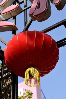 typische chinesische Lampions