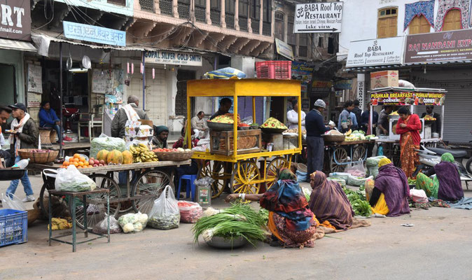 Straßenleben in Pushkar