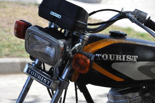 tourist Motorbike
