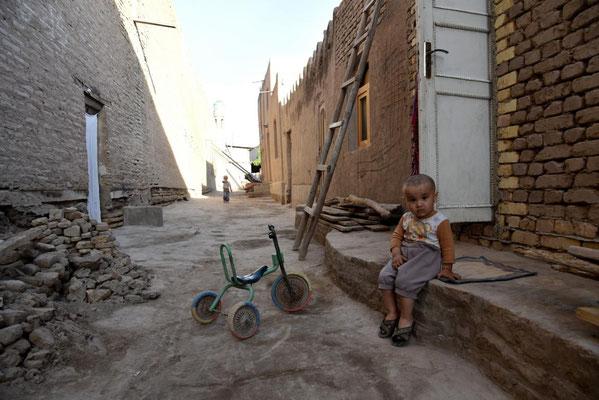 Seitenstraße in Khiva